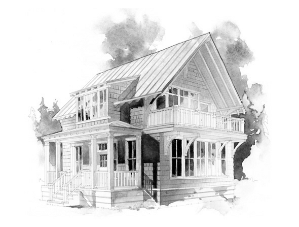 Jackson Family Used Timber Frame Floor Plans for New NC Home